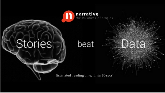Data Storytelling: Data tells you what's happening. Stories tell you why it matters.