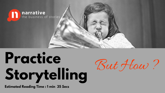 Storytelling Practice and what bugs me about it…