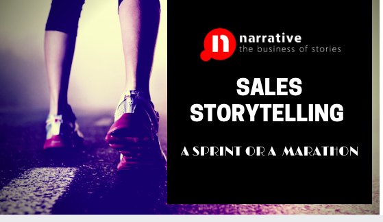 Sales Storytelling: A Sprint or a Marathon ?
