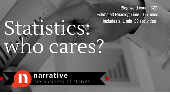 Sales Storytelling : Statistics who cares ?