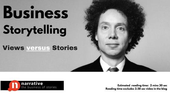 Storytelling: Views Versus Stories