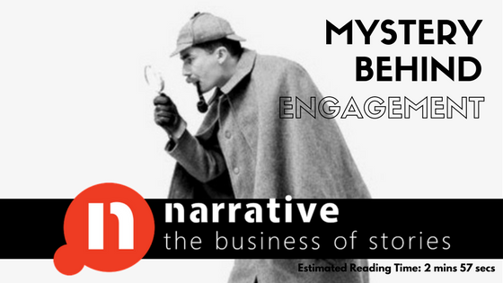 Storytelling : Engagement with Mystery Stories