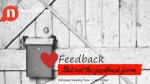 Why I love feedback but hate feedback forms?