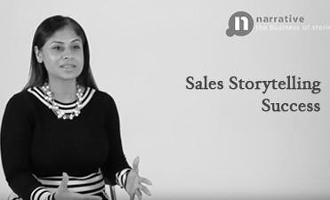 sales storytelling success