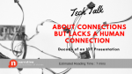 Business Storytelling: Tech Talk About Connections But Lacks a Human Connection