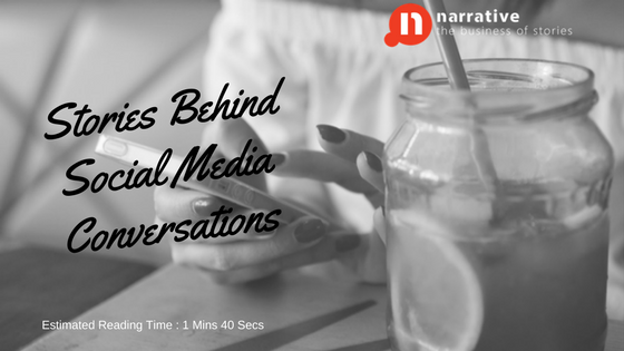 Stories Behind Social Media Conversations