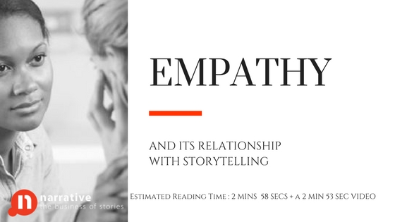 Empathy and its relationship with Storytelling