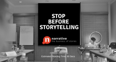 Stop Before Storytelling For Worldviews