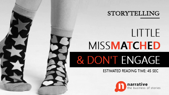 Storytelling: Little MissMatched & Don't Engage