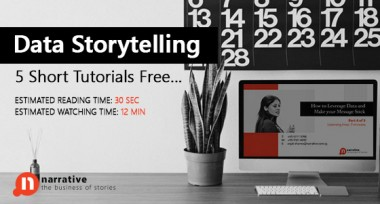Data Storytelling: 5 short, free tutorials…