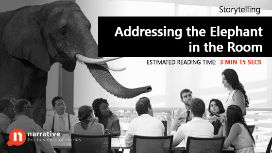 Storytelling: Addressing The Elephant In The Room