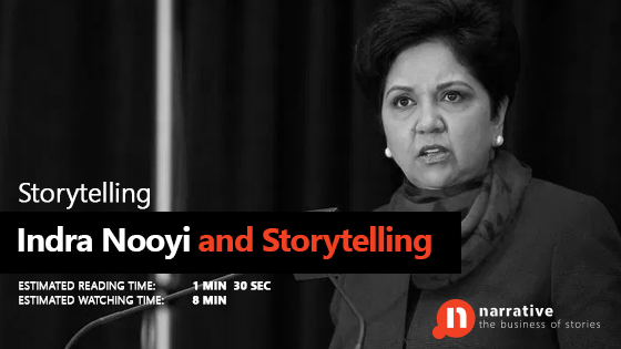 Indra Nooyi and Storytelling
