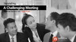Challenging Meetings for Women in Workforce
