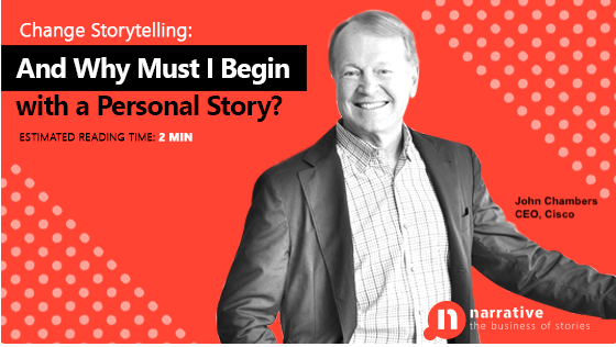 Change Storytelling : And why must I begin with a Personal Story?