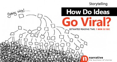 Storytelling : How Do Ideas Go Viral?