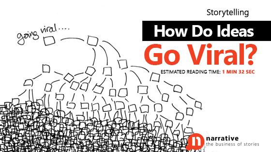 Storytelling : How Do Ideas Go Viral?