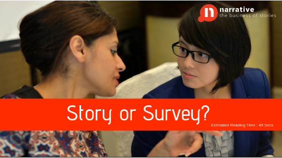 Story or Survey?