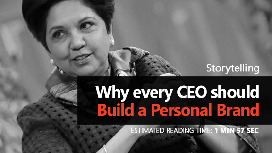 Why every CEO should build a personal brand?