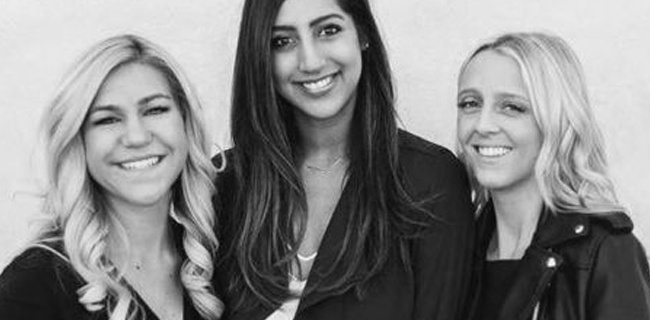 Jenni Olivero, Chelsea Moore and Sabena Suri