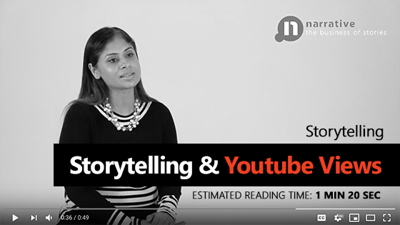 Storytelling & Youtube Views