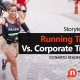 Running Training Vs. Corporate  Training