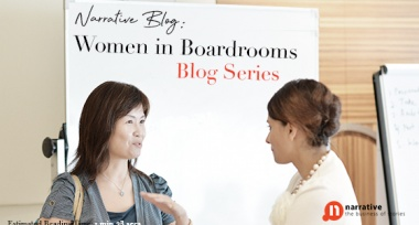 Storytelling : Women in Boardrooms Part 2 of 5