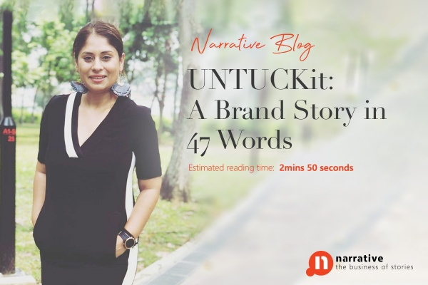 UNTUCKit: A Brand Story in 47 Words