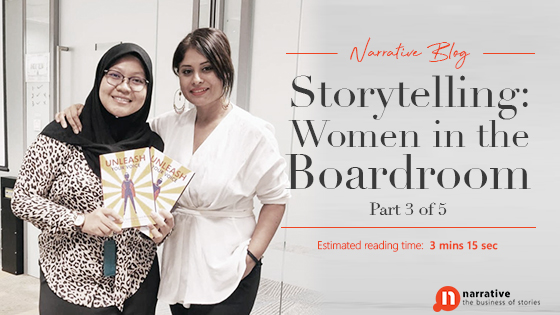 Storytelling : Women In Boardrooms Part 3 of 5