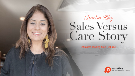 Sales versus Care Story