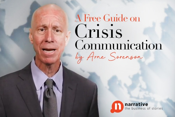 A Free Guide on Crisis Communication by Arne Sorenson