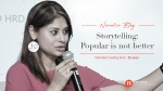 Storytelling: Popular is not Better
