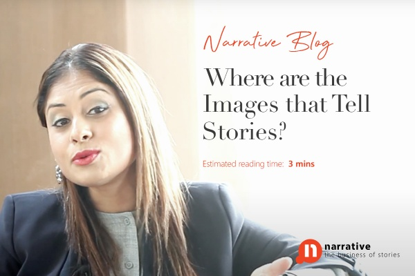 Where are the images that tell stories?