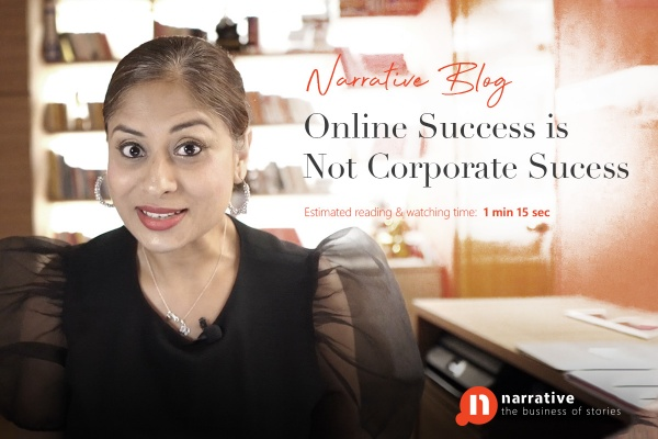 Online success is not corporate success