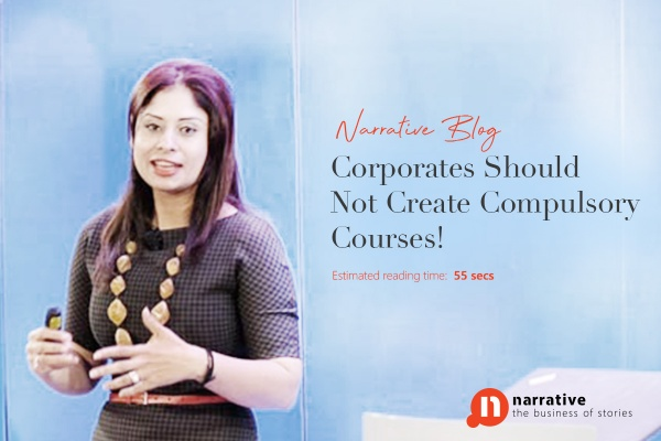Corporates Should Not Create Compulsory Courses!
