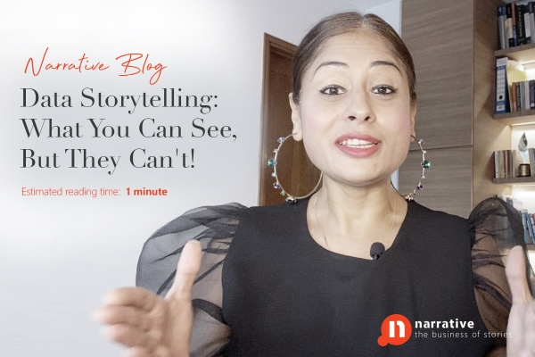 Data Storytelling : What you can see, but they can't!