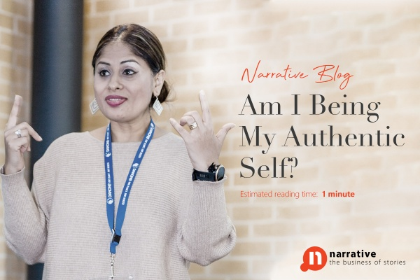 Am I being my authentic self ?