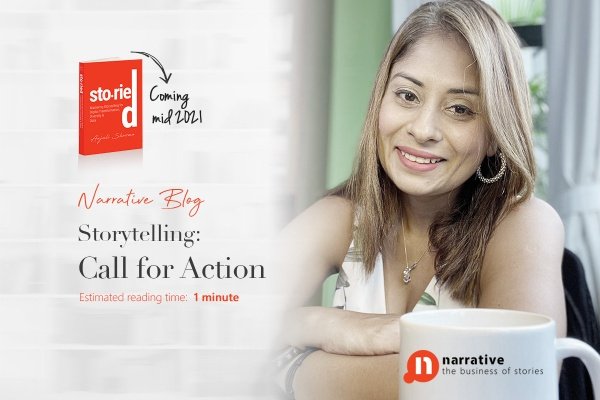 Storytelling, Call for action