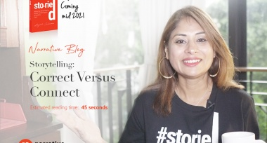 Storytelling : Correct Versus Connect