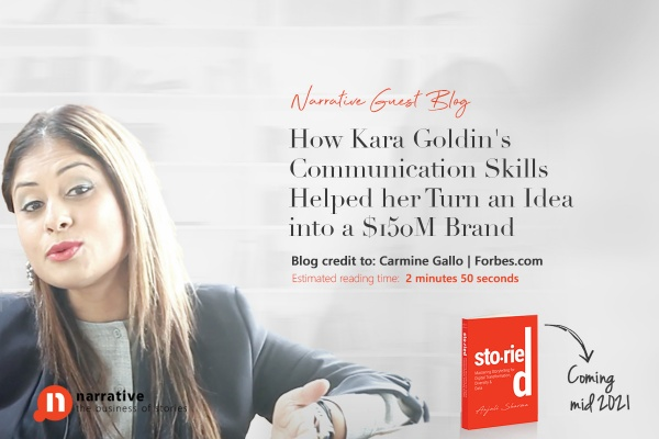How Kara Goldin's communication skills helped her turn an idea into a $150M brand